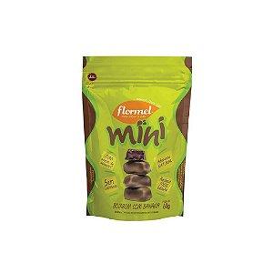 Mini Bombom Flormel Com Banana Zero Açúcar 60g