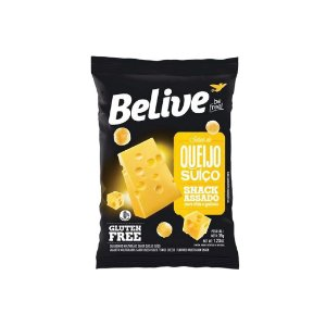 Snack Belive Queijo Suíço 35g