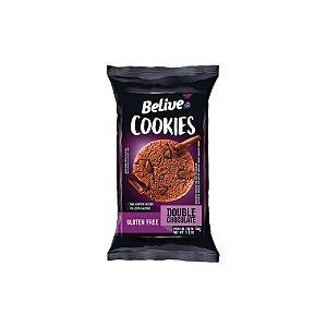 Cookies Belive Double Chocolate Zero Lactose 34g