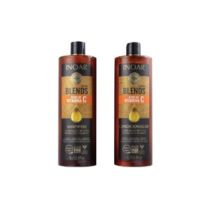 Kit Shampoo e Condicionador Inoar Blends 1L