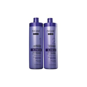 Kit Shampoo e Condicionador Inoar Oxyfree Blond 3D 1L