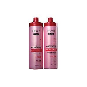 Kit Shampoo e Condicionador Inoar Oxyfree Quimicamente Tratados 1L