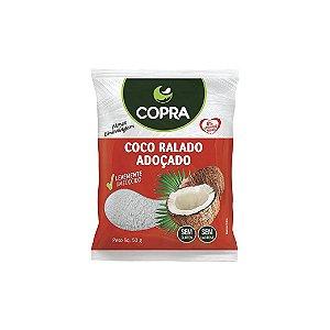 Coco Ralado Adoçado Copra Fino Úmido 50g