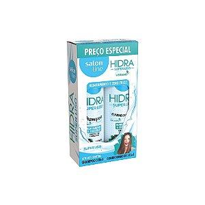 Kit Shampoo e Condicionador Salon Line Hidra Super Liso 300ml