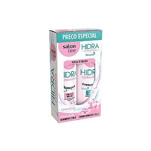 Kit Shampoo e Condicionador Salon Line Hidra Ceramidas 300ml