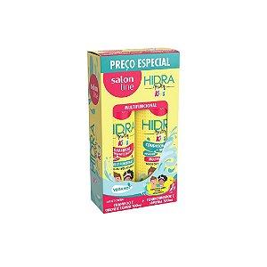 Kit Shampoo e Condicionador Salon Line Hidra Multy Kids 300ml