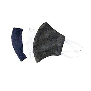 Kit C/03 Máscara de Tecido 100% algodão Lavável