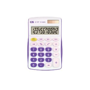 Calculadora Cis 12 Dígitos C-117