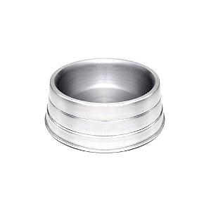 Comedouro de Alumínio Para Cães Agro Roger Médio