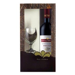 Vinho Quinta do Morgado Bordo Suave 750ml com Taça