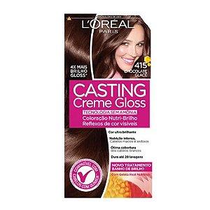 Coloração Casting Creme Gloss 415 Chocolate Glace