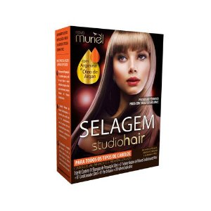 Kit Selagem Muriel Studio Hair Para Todos os Tipos de Cabelos