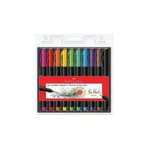 Canetinhas SuperSoft Faber Castell 10 Cores