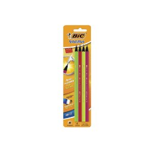 Lápis Preto Bic Hb/2 Evolution Neon C/4 Unid.