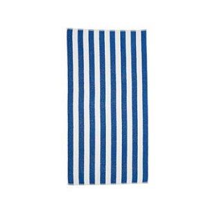 Toalha de Praia Santista 86x160cm Listrada Azul