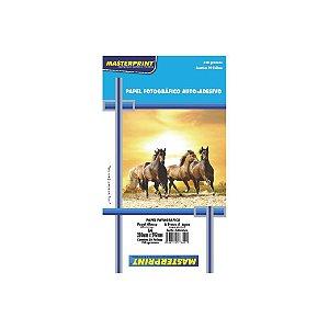 Papel Fotográfico Masterprint Adesivo A4 160g C/20 Folhas