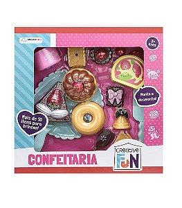 Creative Fun Confeitaria Multikids Para +3 Anos