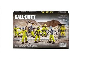 Mega Blocks Call of Duty Pacote de Zumbi Hazmat Zombies Mob +10 Anos - Mattel