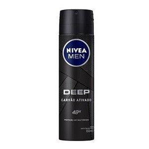 Desodorante Aerosol Nivea Men Deep Original 150ml