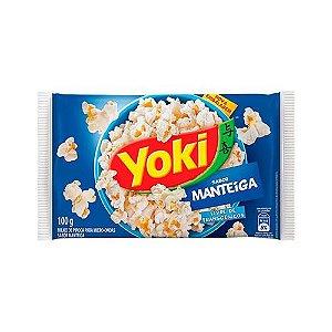 Pipoca para Microondas Yoki Manteiga 100g