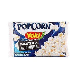Pipoca para Microondas Yoki Manteiga de Cinema 100g