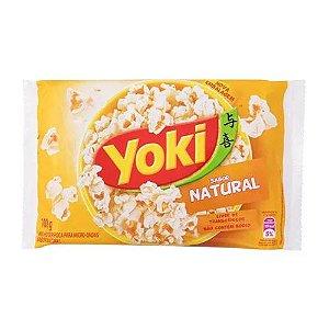 Pipoca para Microondas Yoki Natural 100g