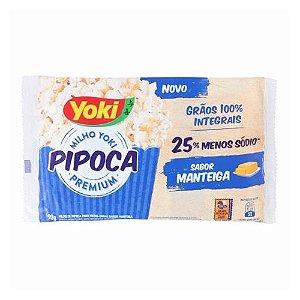 Pipoca para Microondas Yoki Manteiga 90g