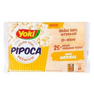 Pipoca para Microondas Yoki Natural 90g