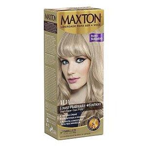 Tintura Maxton 11.11 Louro Super Claro Prata