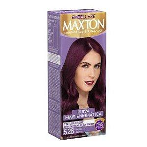Tintura Maxton 5.26 Ruiva Marsala Escuro