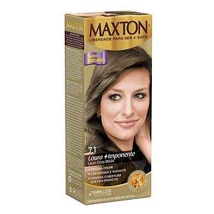 Tintura Maxton 7.1 Louro Cinza Médio