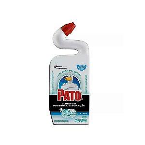 Desinfetante Sanitário Pato Cloro Gel Espuma Marine 500ml