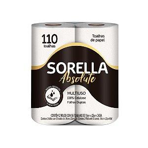 Papel Toalha Sorella Absolute C/2