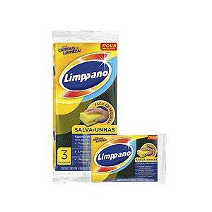 Esponja Limppano Salva Unhas C/3 unidades