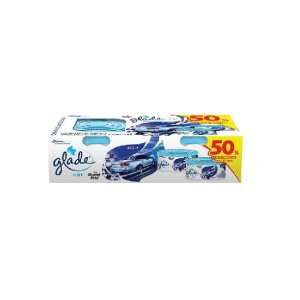 Glade Gel  Car Acqua  C/2 Unidades 70g