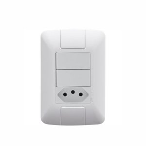 Conjunto com 2 Interruptores Aria  Tramontina