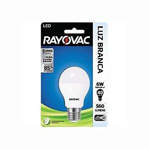 Lâmpada LED 560 Lúmens Branca Rayovac 6W