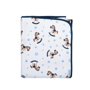 Cobertor Antialérgico Baby Joy 90 x 1,10cm Cavalinho