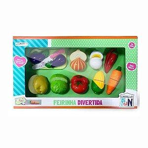 Legumes de Brinquedo Com Velcro Multikids