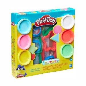 Massinha Play-Doh Color Burst C/4