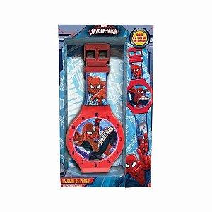 Relógio de Parede Spider-Man 47cm de Altura DTC