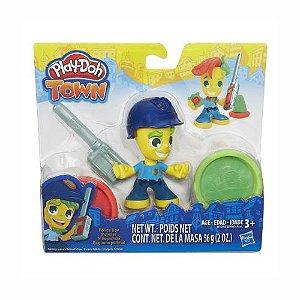 Pequeno Policial Play-Doh Town Hasbro