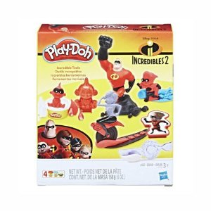 Massa de Modelar Ferramentas Os Incríveis Play-Doh E1939