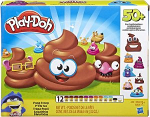 Massa de Modelar Tropa Popó Play-Dooh Hasbro