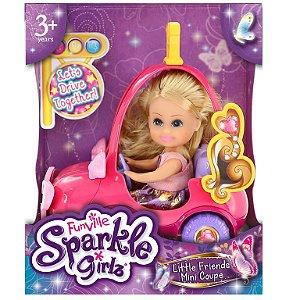 Mini Boneca Sparkle Girlz DTC