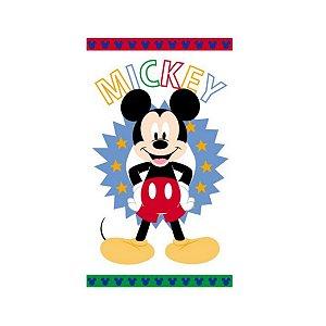 Toalha de Banho Infantil Santista 67x120cm Felpuda Disney Mickey