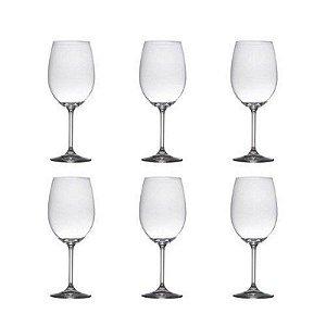 Conjunto de Taças de Cristal para Água - Bohemia