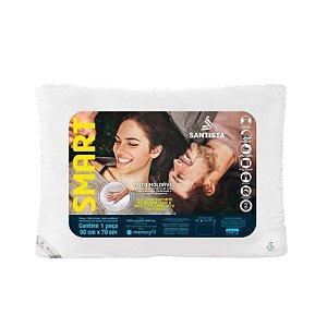 Travesseiro Santista 50x70cm Smart Único Branco