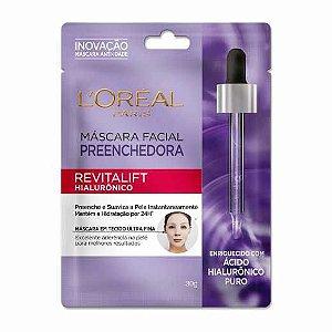 Máscara Facial Loreal Revitalift Hialourônico 30g