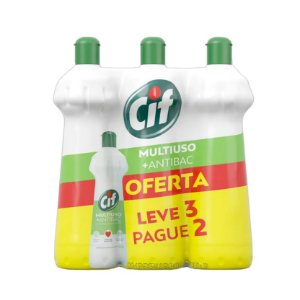 Kit Limpador Cif Multiuso + Antibac 500ml L3P2